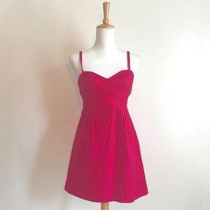 Anthropologie Nanette Lepore Fuchsia Dress Size 2